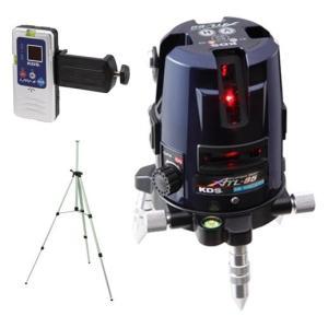 ムラテックKDS 高輝度レーザー墨出器 ATL-85RSA(受光器+三脚セット) フルライン|ishikana