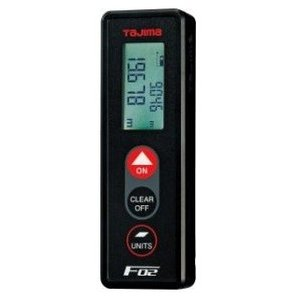 タジマ レーザー距離計 F02 LKT-F02BK ブラック|ishikana
