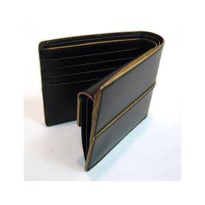 財布 メンズ 二つ折り財布 本革 ギフト プレゼント ラッピング 送料無料|ishikawatrunk