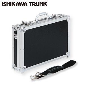 アタッシュケース アルミ トランク 鍵付き 日本製 ビジネスバッグ メンズ おしゃれ A-450bk型 ギフト プレゼント ラッピング 送料無料|ishikawatrunk