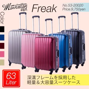 スーツケース Sサイズ 中型 超軽量 おしゃれ TSAロック キャリーケース キャリーバッグ 大容量(3〜5泊) 送料無料 ishikawatrunk