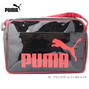 PUMA 073296 エナメル シャイニー D ショルダー L|ishikirishoes