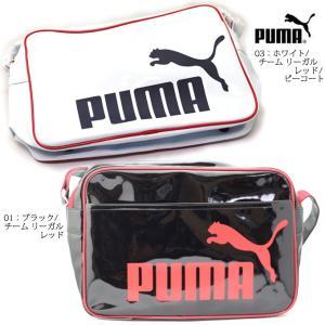 PUMA 073285 エナメル シャイニー D ショルダー M|ishikirishoes