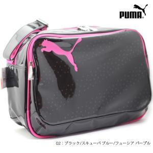 PUMA 073278 エナメル キャット B ショルダー L|ishikirishoes