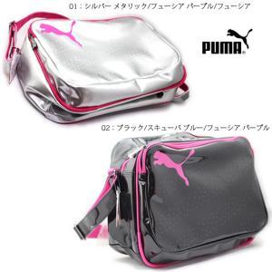 PUMA 073277 エナメル キャット B ショルダー M|ishikirishoes