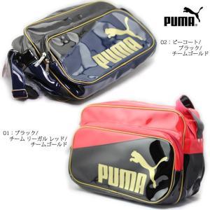 PUMA 073281 エナメル シャイニー B ショルダー L|ishikirishoes