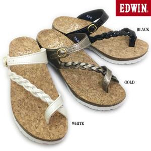 エドウィン EDWIN EW9457 レディース サンダル|ishikirishoes