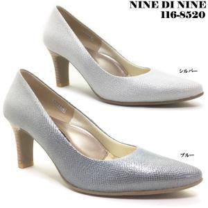 NINE DI NINE No.116-8520 ナイン・デ・ナイン レディース パンプス|ishikirishoes