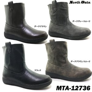 North Date JB12736 ノースデイト レディース ブーツ|ishikirishoes