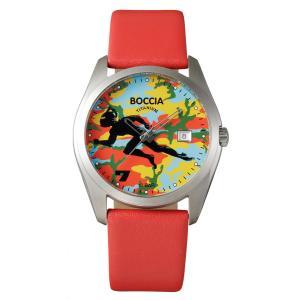 腕時計 BU7-03 ウルトラセブン 放送開始50年記念ウォッチ BOCCIA TITANIUM ボッチア チタニウム|ishikuni-shoten