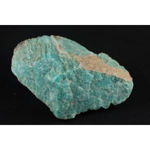 アマゾナイト原石 300g(一面磨き)|ishino-hana