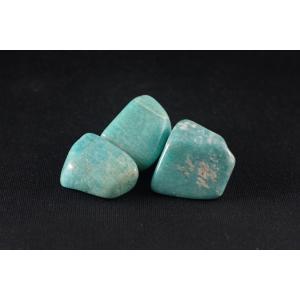 アマゾナイト原石 磨き石39g|ishino-hana