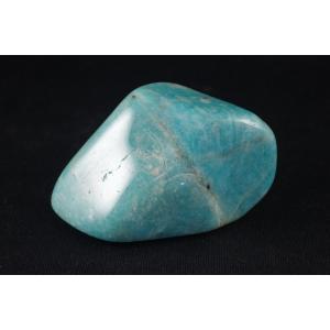 アマゾナイト原石 磨き石37g|ishino-hana