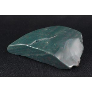 ブラッドストーン 原石 磨き 308g|ishino-hana
