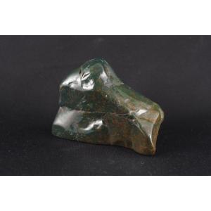 ブラッドストーン原石 磨き254g|ishino-hana