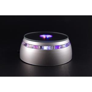 LEDライト付き天然石置き台 ishino-hana