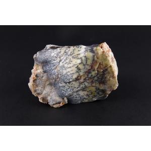 デンドリティックカルセドニー原石 115g|ishino-hana