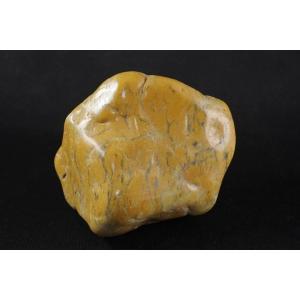デンドリティックカルセドニー 原石 磨き371g|ishino-hana