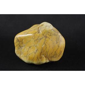 デンドリティックカルセドニー 原石 磨き54g|ishino-hana