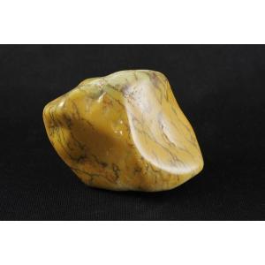 デンドリティックカルセドニー 原石 磨き145g|ishino-hana