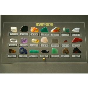 天然石標本ディスプレイ 21種類|ishino-hana