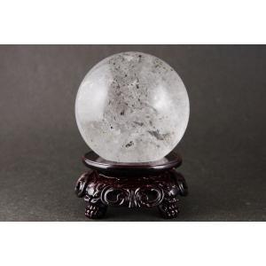 ガーデン水晶丸玉 69mm|ishino-hana