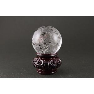ガーデン水晶丸玉 47mm|ishino-hana