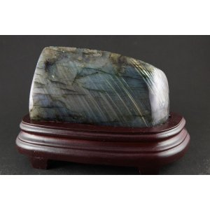 ラブラドライト 原石 置石 868g|ishino-hana