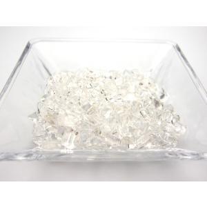 (2個までネコポス便送料無料)上質水晶さざれ(穴無し・浄化用) 500g売り   ishino-kura