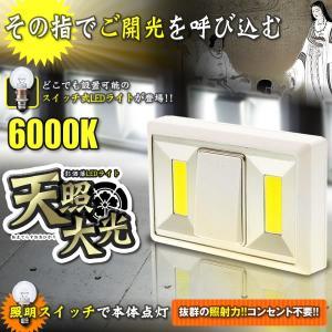 天照大光 LED 照明 ライト マグネット搭載 壁付け 廊下 階段 明るい おしゃれ コンセント不要 トイレ 洗面所 クローゼット AMAOU