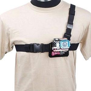 ショルダーストラップマウント ビデオ カメラ チェスト ストラップ for GoPro Hero M...