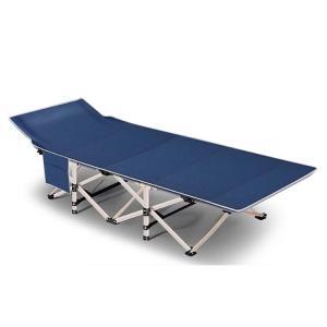 持ち歩きベッド ブルー 折りたたみベッド コンパクト 軽量 シングル 組立不要 マットレス 収納袋付き 簡易 介護 キャンプ 仮眠 MOTIABE-BL|ishino7|06