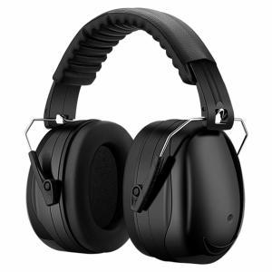 防音イヤーマフ 騒音 防止 遮音 対策 ヘッドホン型 遮音値34dB 快適 低減 調整 耳あて 勉強...