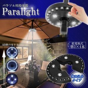 パラソル用投光器 パラソルライト パラソル 傘 照明 LEDライト LED投光器 投光器 野外 PARALIGHT|ishino7