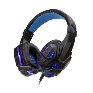 グラティヘッド ブルー ゲーミングヘッドセット ps4 ヘッドホン PC用 高音質 臨場感 騒音隔離...
