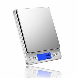 チビ物はかり デジタルスケール キッチン 0.1g単位 電子 はかり 計量 袋引き機能 オートオフ機...
