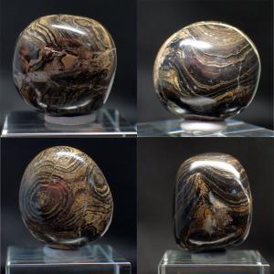 ストロマトライト Stromatolite 化石 鉱物 標本 写真現物 ishinomise