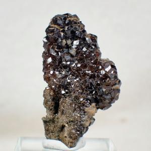 アンドラダイト ガーネット 奈良県白倉谷産 鉱物 標本 原石 写真現物 動画あり|ishinomise