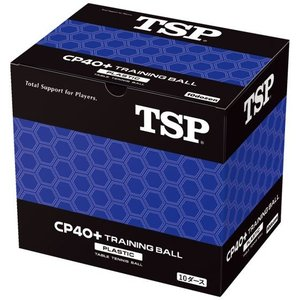 TSP 卓球 ボール CP40+ トレーニングボール 10ダース入り 010071 練習球 全国送料...