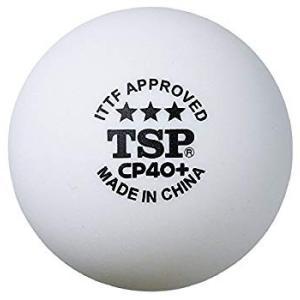ティーエスピー(TSP) 卓球 ボール CP40+ 3スターボール 5ダース入り 日本卓球協会公認ボール 全国送料無料