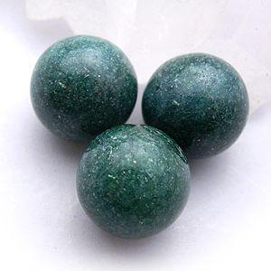 アベンチュリン:丸玉:12mm(天然石・パワーストーン|ishiya