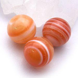 赤天眼石(サードオニキス):丸玉:12mm(天然石・パワーストーン|ishiya