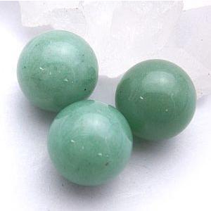グリーンクォーツァイト:丸玉:12mm(天然石・パワーストーン)|ishiya
