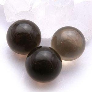 スモーキークォーツ:丸玉:12mm(天然石・パワーストーン)|ishiya