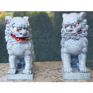 人工石製の狛犬 (神棚に最適)...