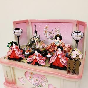 【久月】ひな人形 衣裳着収納五人飾り「よろこび雛」|ishizaki|04
