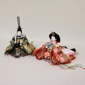 【久月】ひな人形 衣裳着収納五人飾り「よろこび雛」|ishizaki|06