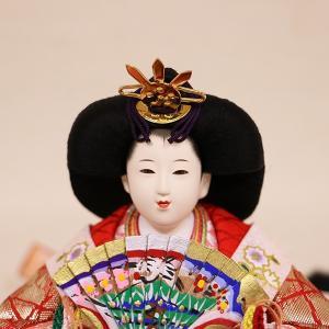 【久月】ひな人形 衣裳着収納五人飾り「よろこび雛」|ishizaki|08