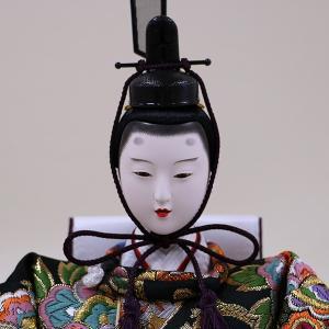 【千匠】雛人形 衣装着三段五人飾り「平安雛」 ishizaki 07