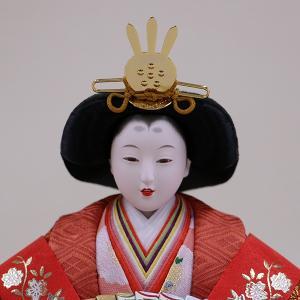 【千匠】雛人形 衣装着三段五人飾り「平安雛」 ishizaki 08
